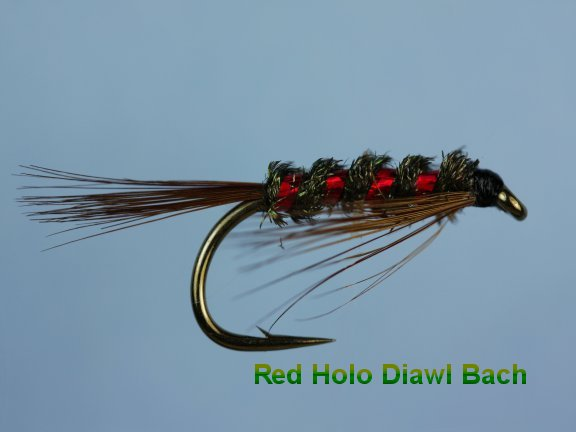 Diawl Bach Holo/Red
