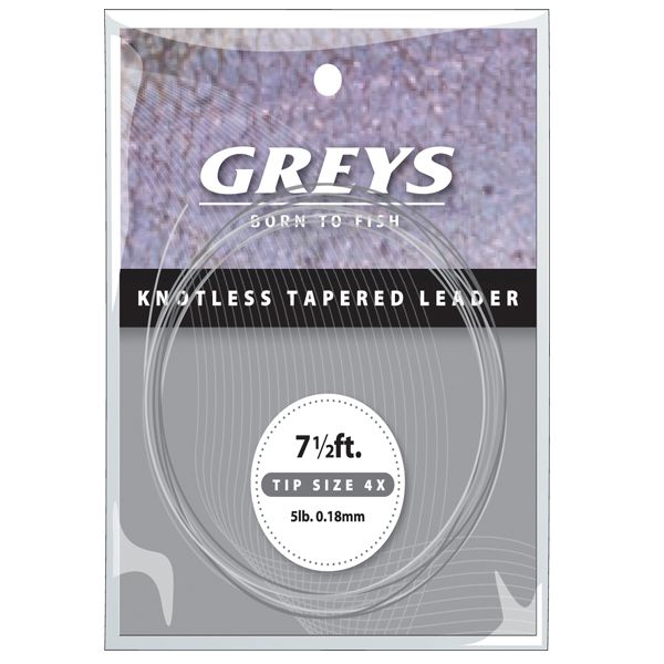 Greys Greylon Copolymer Knotless Tapered Leaders