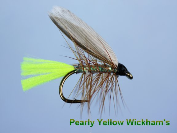 Pearly Yellow Wickhams Winged Wet