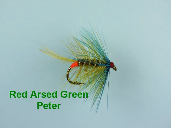 Red Arsed Green Peter Bumble